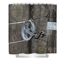 First Automatic Dryer Shower Curtain