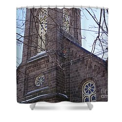 First Baptist Church Shower Curtain