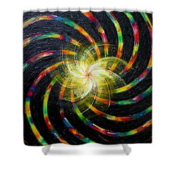 First Day Of Creation Shower Curtain