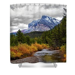 First Dusting Of Snow Shower Curtain