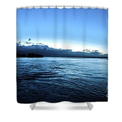 First Ferry Home Shower Curtain