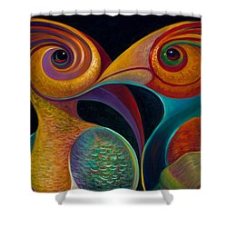 First Flight 1 Shower Curtain by Claudia Goodell