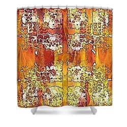 First Impression Shower Curtain by PainterArtist FIN