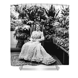 First Lady Ida Mckinley Shower Curtain by Underwood Archives