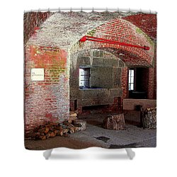 First Level Casemates Shower Curtain