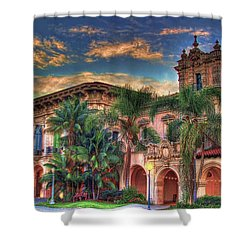 Shower Curtain featuring the photograph First Morning Glow by Gary Holmes