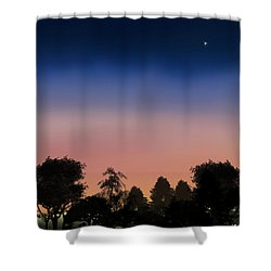 First Star I See Tonight Shower Curtain
