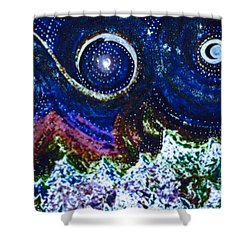 First Star Magic Sky By Jrr Shower Curtain by First Star Art