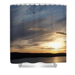 Firth Of Forth In The Sunset Shower Curtain