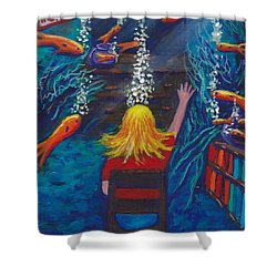 Fish Dreams Shower Curtain
