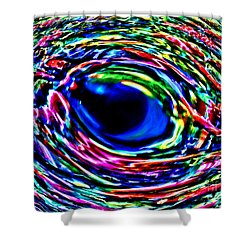 Shower Curtain featuring the photograph Fish Eye by David Lawson