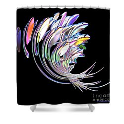 Fish Fandango Shower Curtain by Greg Moores