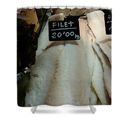 Fish Filets Shower Curtain