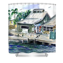 Fish House Shower Curtain