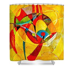 Fish II - Marucii Shower Curtain