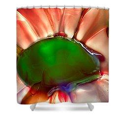 Fish Mohawk Shower Curtain by Omaste Witkowski