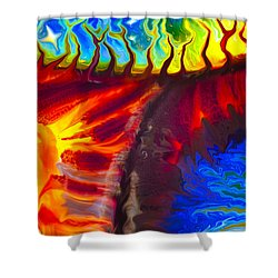Fish Tales Shower Curtain by Omaste Witkowski