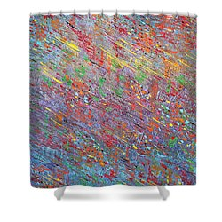 Fish To The Top Shower Curtain by George Riney