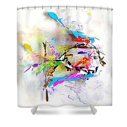 fish XXIV - marucii Shower Curtain