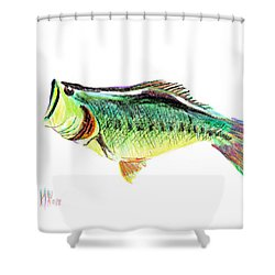 Fishermans Delight Shower Curtain by Kip DeVore