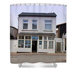 Fishermans House Wernamunde Germany Shower Curtain by Thomas Marchessault