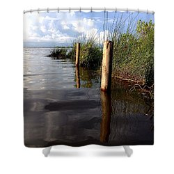 Fishermen's Paradise   Shower Curtain