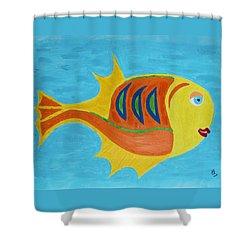 Fishie Shower Curtain