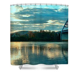Fishin Shower Curtain