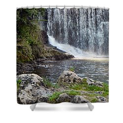 Shower Curtain featuring the photograph Fishing Hole by Deb Halloran
