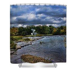 Fishing Spot Shower Curtain
