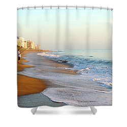 Fishing The Atlantic Shower Curtain
