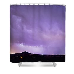 Fist Bust Of Power Shower Curtain by James BO  Insogna