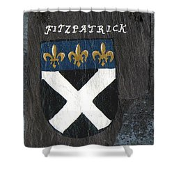 Fitzpatrick Shower Curtain by Barbara McDevitt