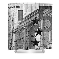 Five Euro Shower Curtain by Semmick Photo