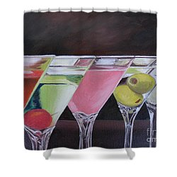 Five O'clock Shower Curtain