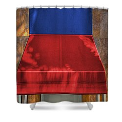 Five Shower Curtain by Paul Wear