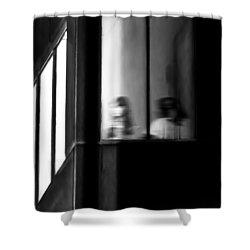 Five Windows Shower Curtain by Bob Orsillo