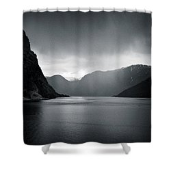 Fjord Rain Shower Curtain