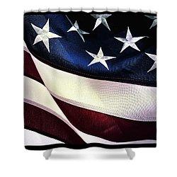 Flag Spotting At The Va Shower Curtain