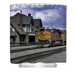 Flagstaff Station Shower Curtain