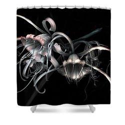 Flamboyant Shower Curtain by Wayne Sherriff