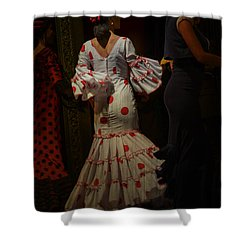 Flamenco Dancer #14 Shower Curtain by Mary Machare