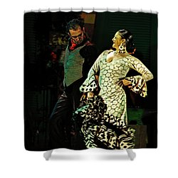 Flamenco Series No 11 Shower Curtain by Mary Machare