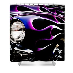 Shower Curtain featuring the photograph Flaming Classic by Joann Copeland-Paul