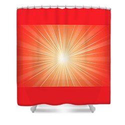 Flash 2 Shower Curtain by Philip Ralley
