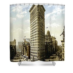 Flat Iron Building New York 1903 Shower Curtain by Unknown