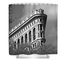 New York City - Flat Iron Prow Shower Curtain