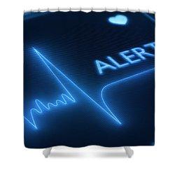 Heart Failure / Health Shower Curtain
