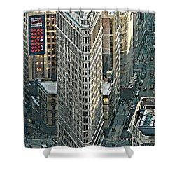 Flatiron Building Nyc 1 Shower Curtain