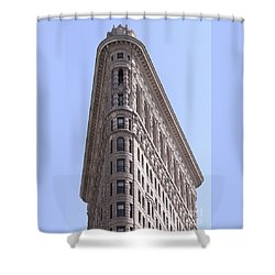 Flatiron Shower Curtain by John Wartman